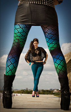 Tights and Jeans
