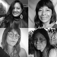 Graciela Guarani, Michele Kaiowá, Patrícia Ferreira Pará Yxapy & Sophia Pinheiro