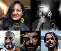 Graciela Guarani, Thiago Dezan, Leo Otero, Alexandre Pankararu & Marcelo Vogelaar