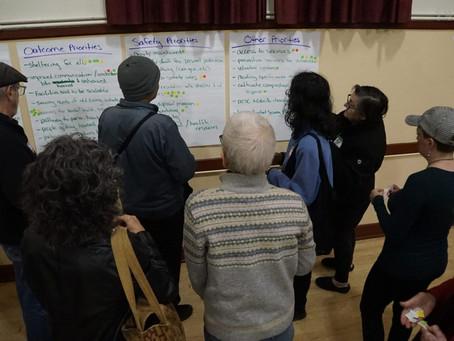 Santa Cruz residents give feedback on needs for emergency shelter