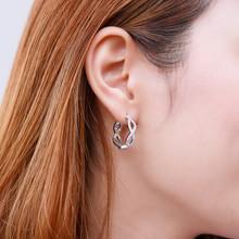 Sterling Silver CZ Earrings