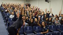 Palestra a estudantes de nível médio