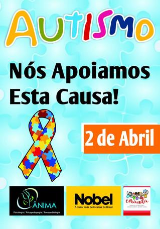 Conscientização do Autismo: a Clínica Ânima apoia esta causa.