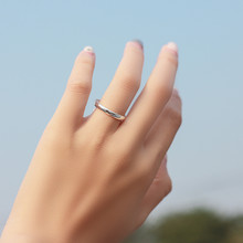 Sterling Silver Plain Ring - Silver Ice Ltd