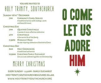 Christmas at Holy Trinty