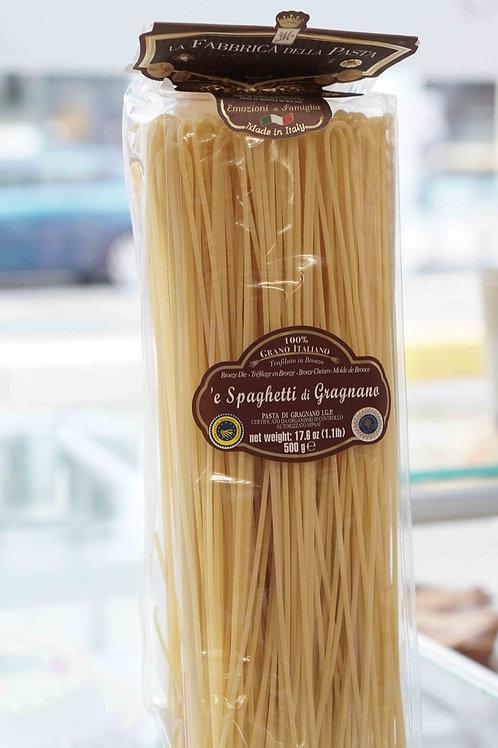 'e Spaghetti di Gragnano (500 g) - La Fabbrica della Pasta di Gragnano