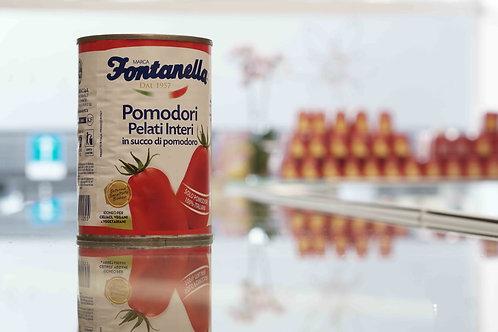 Pomodori pelati interi in succo di pomodoro - Fontanella
