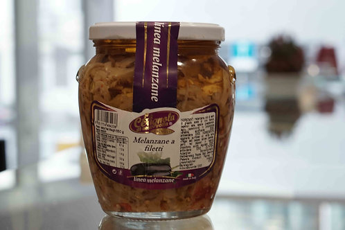 Melanzane a filetti (550 g) - La Cerignola di una volta