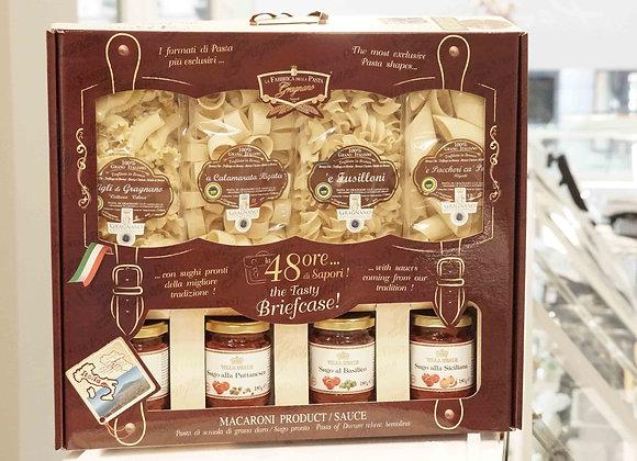 48 Ore di Sapori - La Fabbrica della Pasta diGragnano(4 pasta x 500 g + 4 salse)