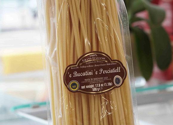 'e Bucatini 'e Perciatiell (500 g ) - La Fabbrica della Pasta di Gragnano