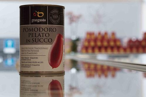 Pomodoro pelato in succo (400 g) - Grangusto