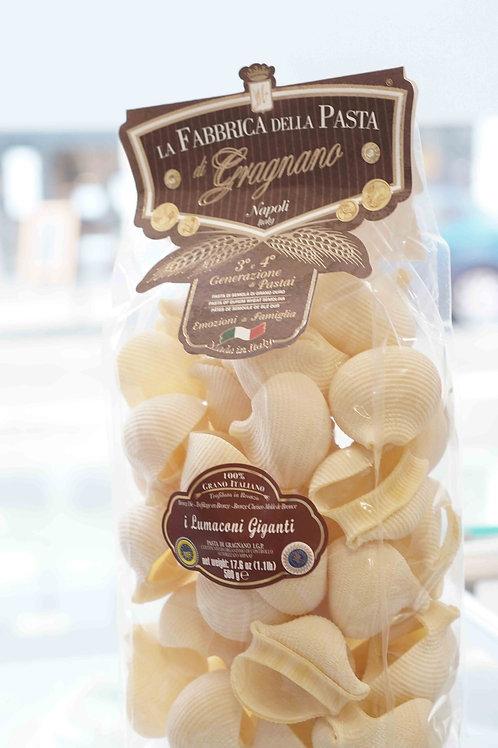 i Lumaconi giganti (500 g) - La Fabbrica della Pasta di Gragnano