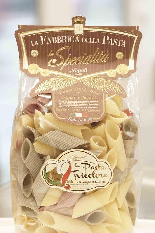 La Fabbrica della pasta di Gragnano - Rigatoni tricolore (500g)