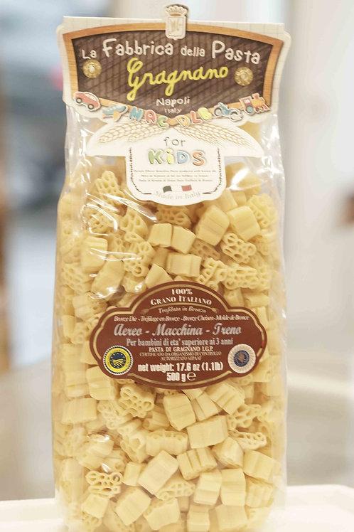 La Fabbrica della pasta di Gragnano - KIDS - Aereo, Macchina, Treno