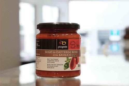Sugo di datterini rossi con basilico - Grangusto (290 g)