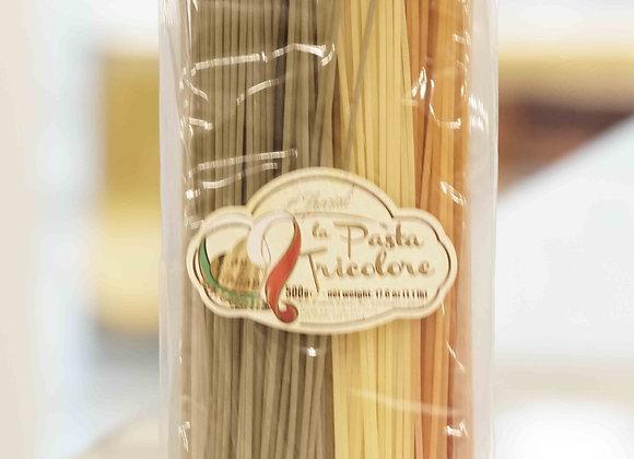 La Fabbrica della pasta di Gragnano - e Spaghetti tricolore (500g)