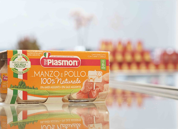 Salsa Manzo & Pollo 100% Naturale (160 g) - Plasmon