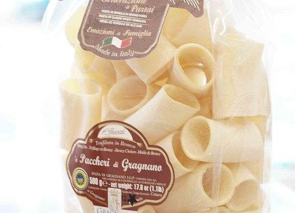 e Paccheri di Gragnano (500 g) - La Fabbrica della Pasta di Gragnano