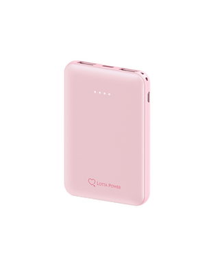 Lotta Power | Powerbank 5.000mAh (Rosé)