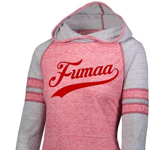 Ladies Vintage Hooded T-shirt