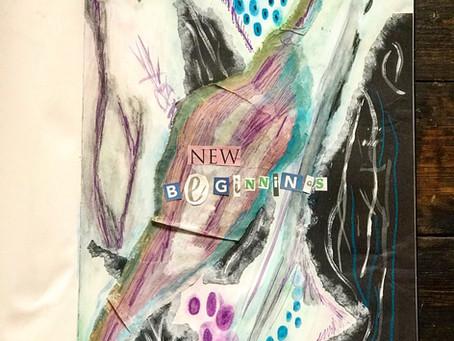 Creative Journal - New Beginnings
