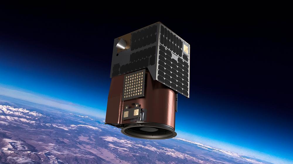 Satellogic satellite render
