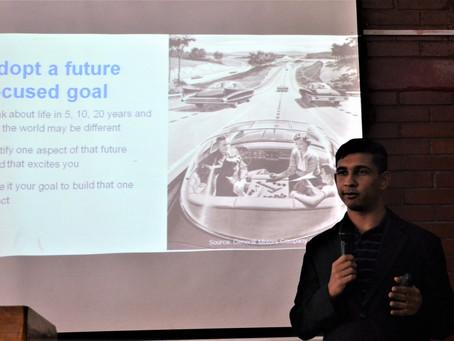 Presenting at IUBAT in Dhaka, Bangladesh