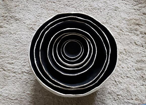 Set Bowls Negros (8)
