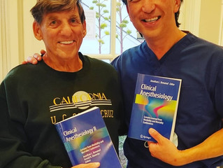 Honored to Take Care of Dr. Jon Benumof, M.D.