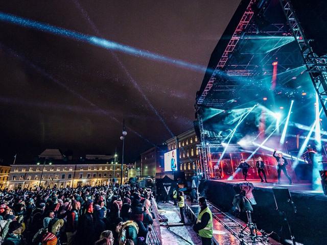 Helsingin kaupungin uusivuosi 2019