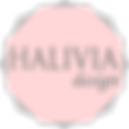 Halivia design logo