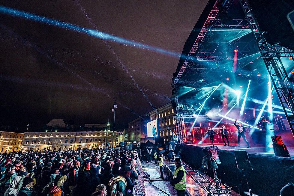 Helsingin kaupungin uusivuosi 2019 - Broadway Finland