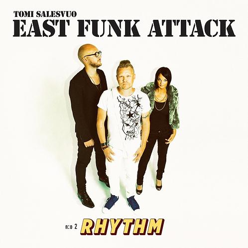 Tomi Salesvuo East Funk Attack - Rhythm LP + CD