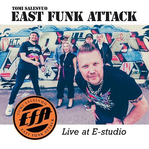 TOMI SALESVUO EAST FUNK ATTACK STUDIO LIVE CD