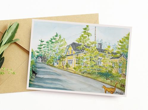 Iina Helanderin postikortti