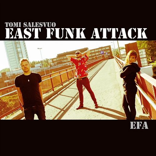 Tomi Salesvuo East Funk Attack EFA CD