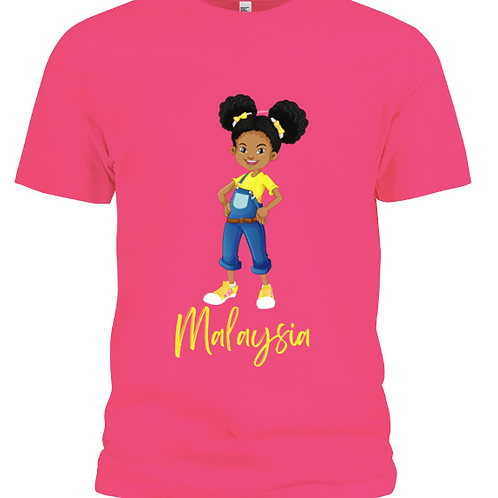 Signature Malaysia T-Shirt (Hot Pink)