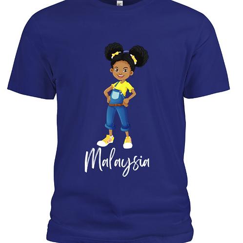 Signature Malaysia T-Shirt (Royal Blue)