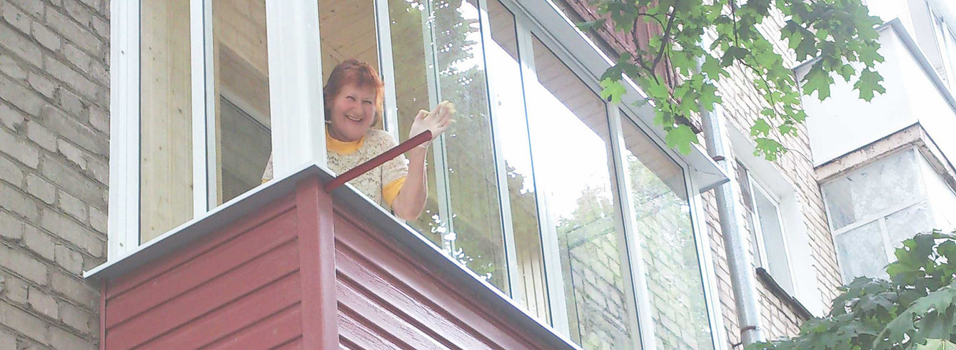 Остекление балконов в воронеже