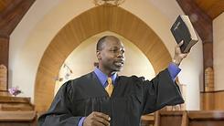 Pastor Preaching