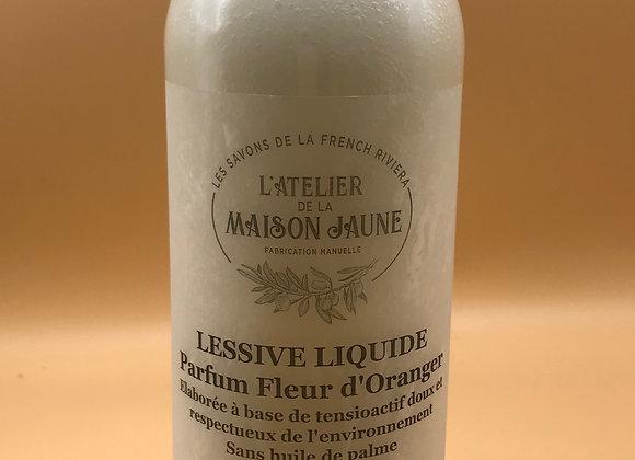 Lessive liquide parfumée Fleur d'Oranger 1 litre