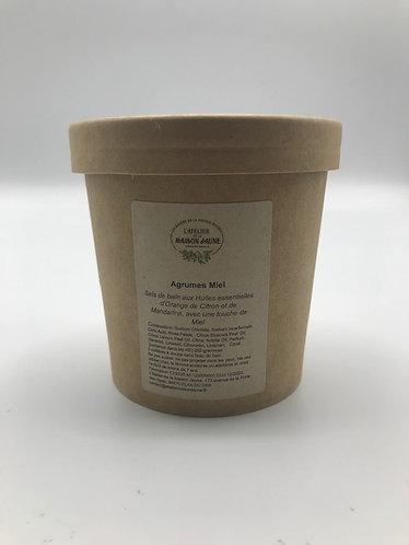Sels de bain Agrumes Miel 250g