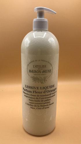Lessive liquide universelle 1l parfum Fleur d'Oranger