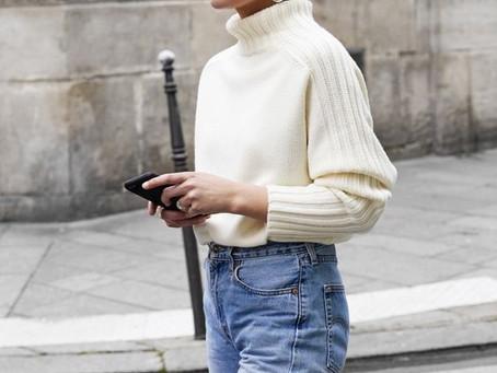 6 ideias para aproveitar a sua blusa de gola alta