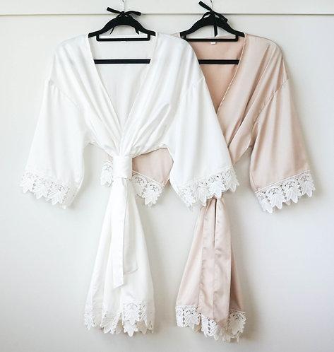Bridesmaid robe nz
