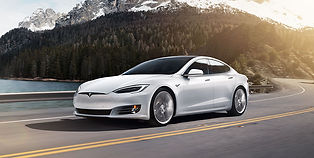 The Tesla Model S is the large saloon version of the Tesla family, the Model S revolutionised the electric vehicle industry, by creating unprecedented ranges, a sleek design and punchy 0-60.