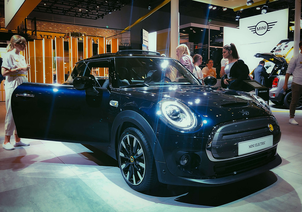 Mini Electric at Frankfurt Motor Show 2019