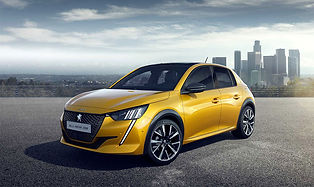 Peugeot takes the 208 and electrifies the driving and its appearance. The e-208 has an updated design with a slicker exterior, and it's technology has been revamped.