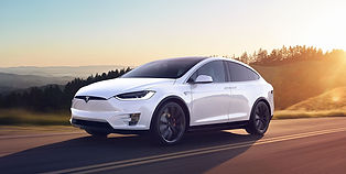 The Tesla Model X is the SUV member of the Tesla family. The Model X comes with an option of 5 or 7 seats, as well as loaded with the signature Tesla technology.