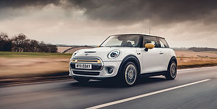 The Mini Cooper Electric is the Mini you know and love, with an electric twist. The Electric version of the Mini Cooper comes with Mini navigation, a fully digital display and the comfort and style you expect from the iconic Mini Cooper.